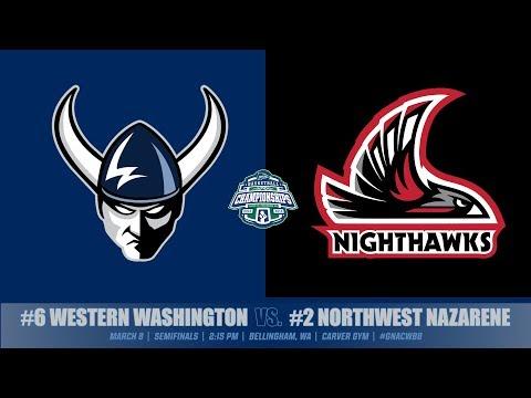 GNAC WBB Semifinals | WWU vs. NNU