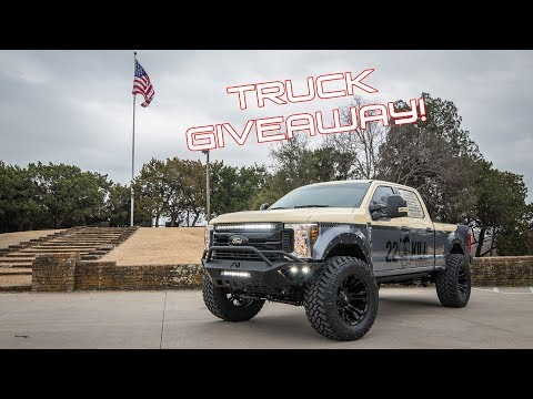Truck Giveaway KILL  Ford F- with FabFours s No Lift System