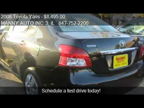 2008 Toyota Yaris Sedan For Sale In Grayslake Il 60030 At M Youtube