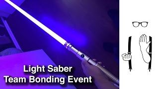 PWC Team Bonding Light Sabers Event