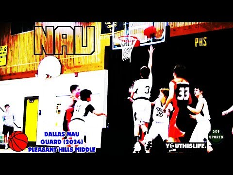 [ 309 Sports ] Dallas Nau (2024) PG Pleasant Hills Middle School