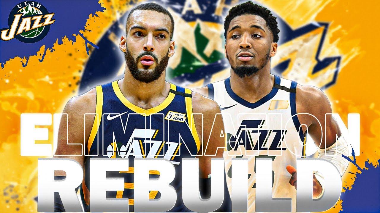 HARDEST REBUILD IN THE NBA! UTAH JAZZ ELIMINATION REBUILD! NBA 2K21