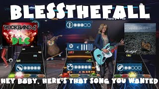 Blessthefall - Hey Baby, Here's That Song You Wanted - Rock Band 4 DLC Full Band (June 21st, 2018)