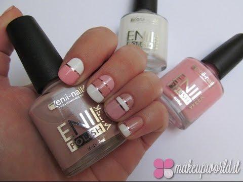 Pink stripes elegant nail art tutorial youtube pink stripes elegant nail art tutorial prinsesfo Images