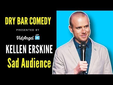 Kellen Erskine meets the saddest audience member - DryBarComedy