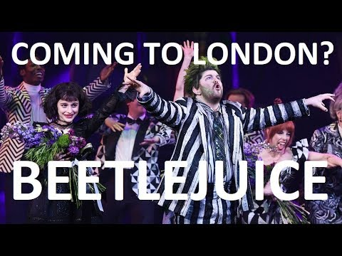 Beetlejuice Musical WEST END LONDON Transfer? - Broadway Review HDTV Standing Ovation