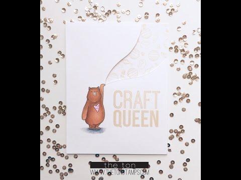Craft Queen Honey Bear