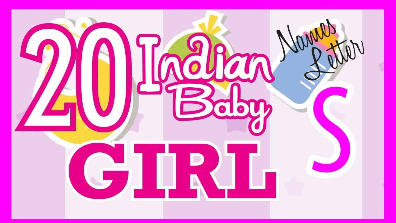 20 Indian Baby Girl Name Start With S Hindu Baby Girl Names Indian