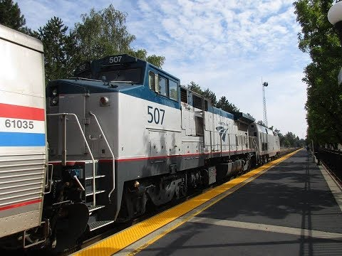 Trains In Albany & Salem, OR August 25th 2018