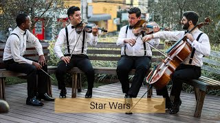Star Wars com quarteto de cordas (John Williams) por RiseUp Trilha Sonora