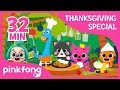 I'm a Chef today and more | Thanksgiving Songs | +Compilation | Pinkfong Songs for Children