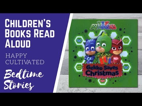 PJ Masks Gekko Saves Christmas | Christmas Books for Kids | Christmas Book for Preschool
