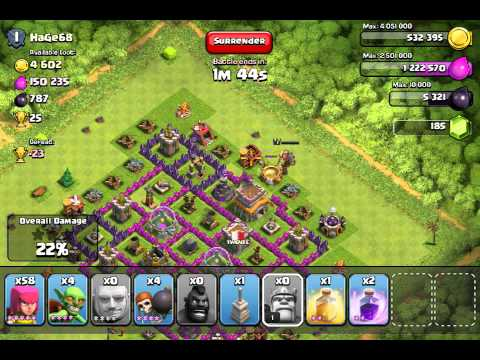 Clash of clans REVENGE +890 k resources bonus
