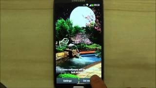 Eastern Garden Android Live Wallpaper