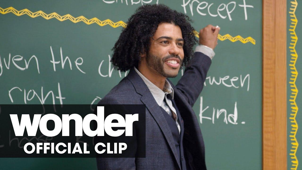 "Wonder (2017 Movie) Official Clip ""Precepts"" - Daveed Diggs, Jacob Tremblay"