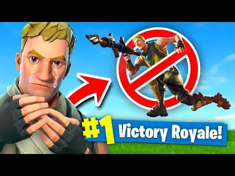 Fortnite But Youre *NOT* Allowed to JUMP Fortnite: Battle Royale (Challenge)
