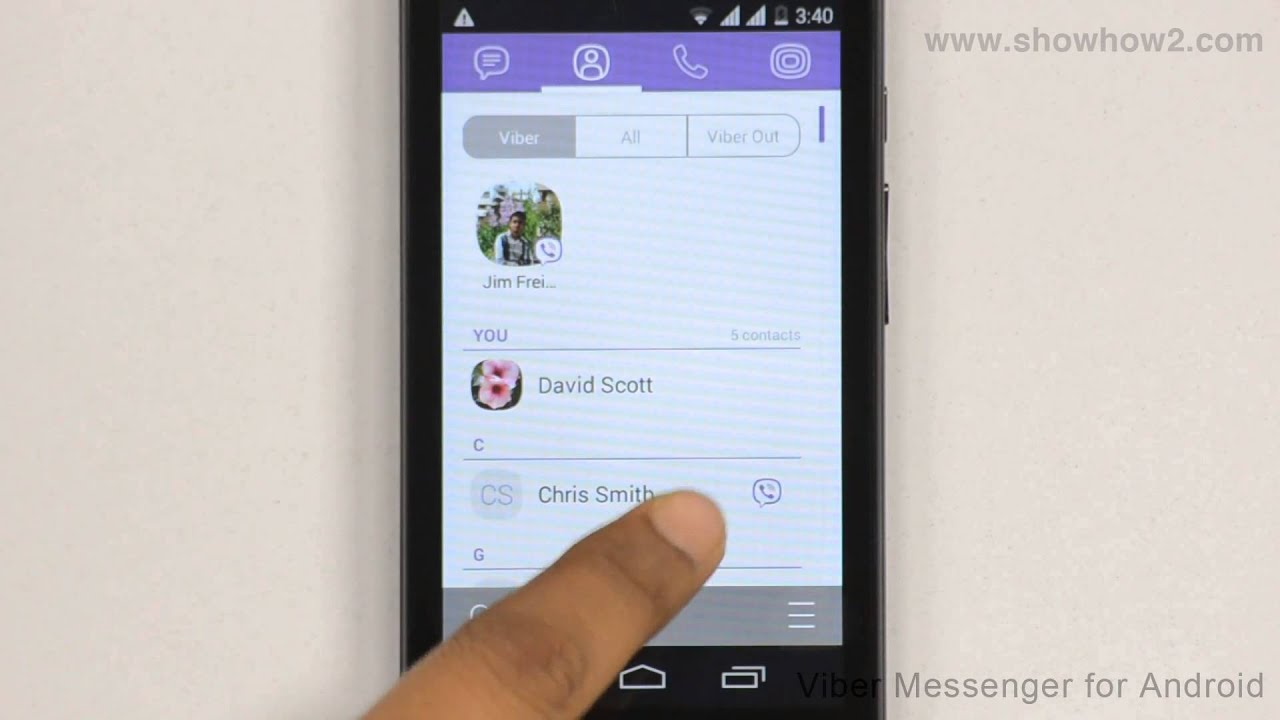 Viber Message How To Send A Voice Message Youtube