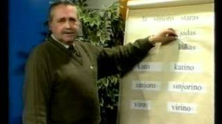 Curs d'Esperanto – Lliçó III