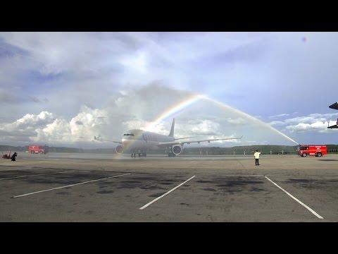 Qatar Airways Inaugural Flight to Krabi, Thailand