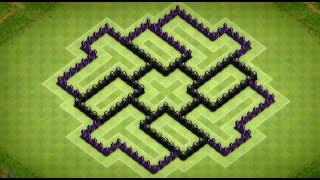 Clash of Clans - Epic Town Hall 7 Dark Elixir Farming Base (Invictus) Speed Build