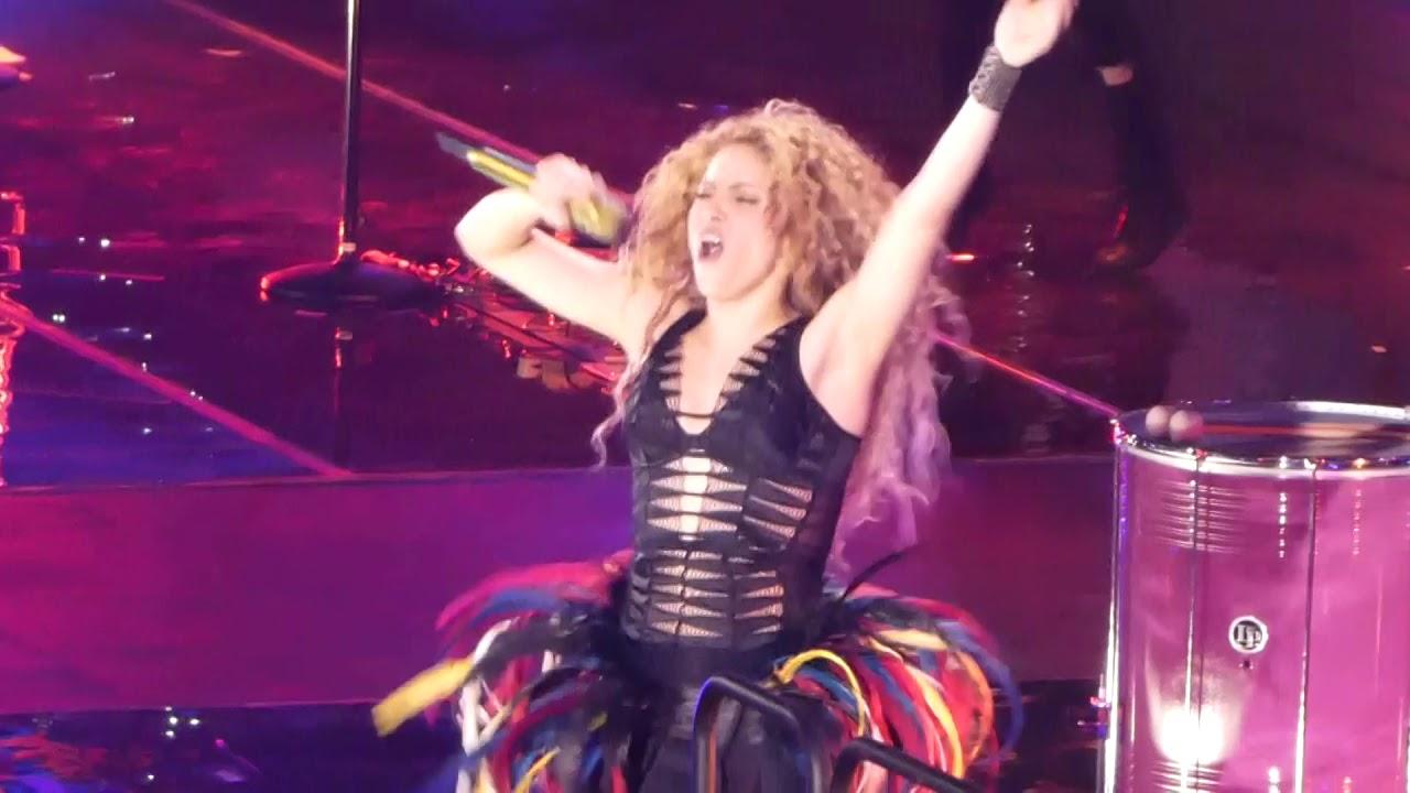 Download [Live - El Dorado Tour] Shakira - LaLaLa / Waka Waka (Munich, June 17, 2018)