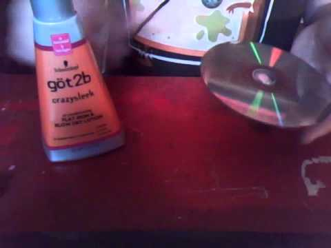 how to clean a game disc for ps2 or any console realy works