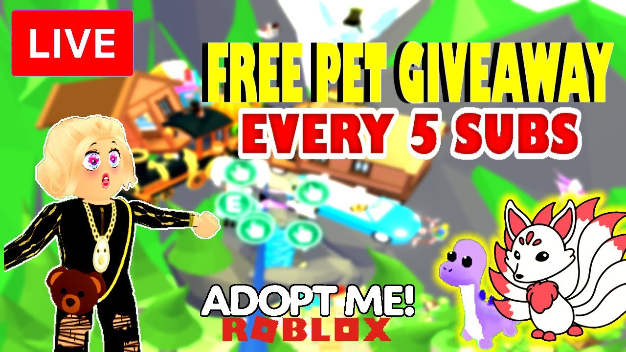 🔴🎁  LIVE ROBLOX ADOPT ME ! NEON LEGENDARY PET FOR YOU!TRADING! PLAYING WITH FANS! LOTS OF FUN!