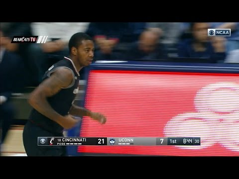Men's Basketball Highlights: Cincinnati 67, UCONN 47 (Courtesy CBS Sports)