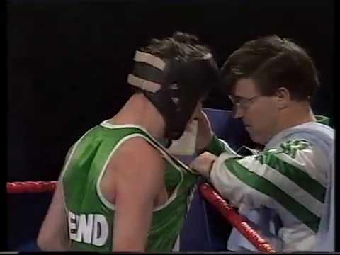England vs Ireland Amateur Show, Everton Leisure Centre, UK - 1992
