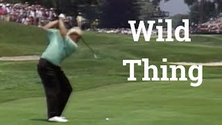 John Daly drives a Par 5 in 2 at the 1993 U.S. Open