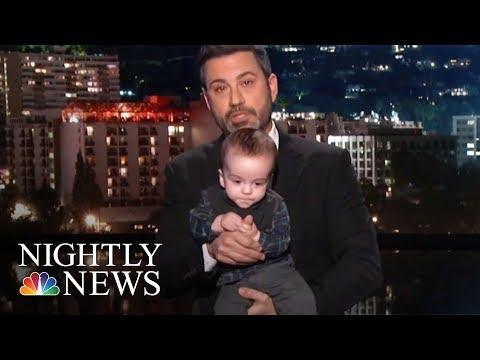 Jimmy Kimmel Makes Emotional Plea For CHIP | NBC Nightly News