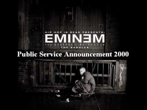 The Marshall Mathers LP - Public Service Announcement 2000