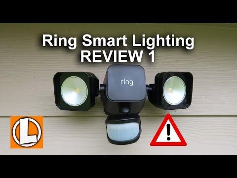 ring smart lighting review bridge floodlight spotlight motion sensor issues