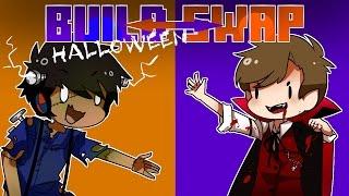 Minecraft BUILD SWAP - Halloween Edition! thumbnail