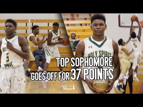 Top Sophomore Anthony Edwards GOES CRAZY & Drops 37 POINTS!!! It's Time To WAKE UP!!