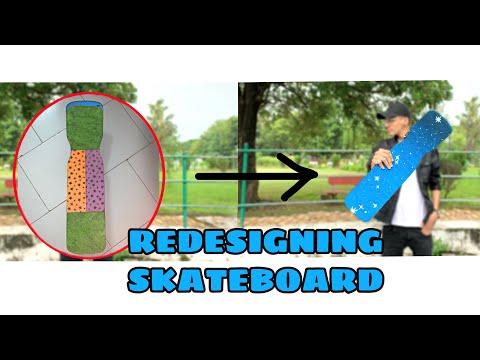 ReDesigning My Skateboard! | Almin Abuwani