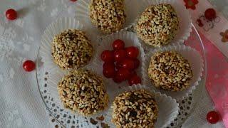 Домашние конфеты ♥ Постное блюдо ♥ Конфеты из сухофруктов ♥ homemade candy