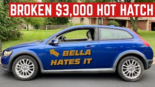 Here's Everything That's WRONG With My CHEAP Volvo C30 *Hot Hatch*