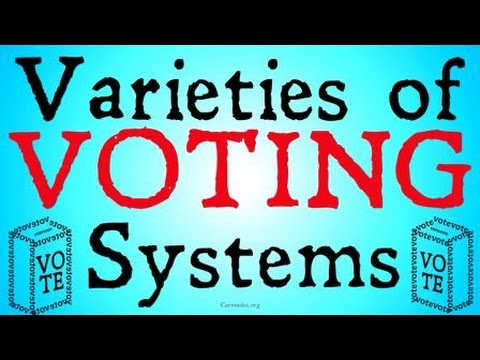 Varieties of Voting Systems