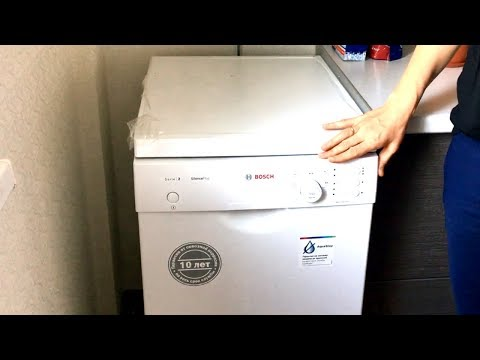 Отзыв о посудомоечной машине Bosch SPS25FW11R