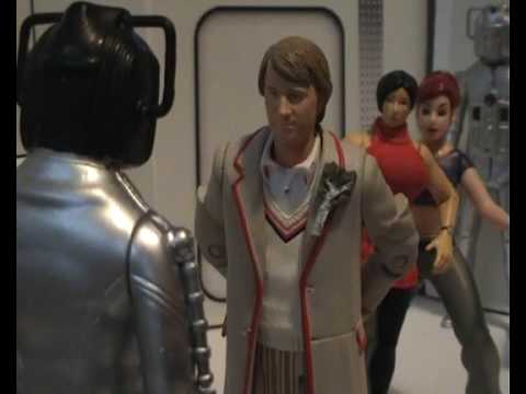 Doctor Who Scene Re-Creation: Earthshock-The Doctor confronts the Cyber Leader