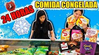 24 HORAS COMENDO COMIDA CONGELADA COM A FAMÍLIA | Blog das irmãs