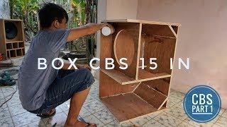 Pembuatan box cbs 15 in bahan triplek 18 mm