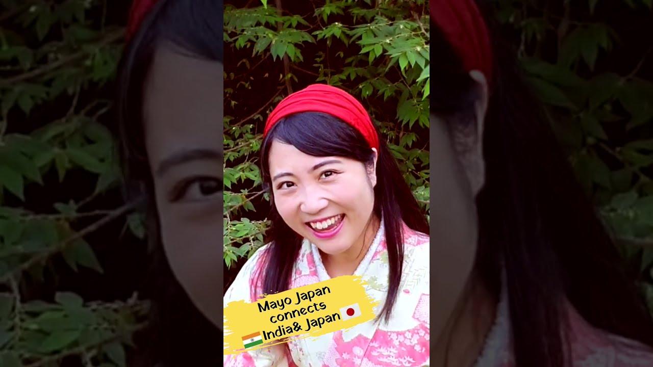 Bollywood by Japanese girl | Sayonara Sayonara | Love in Tokyo | Mayo Japan #shorts