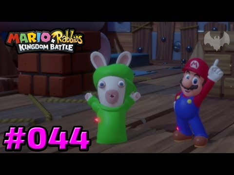 Wen haben wir denn da? - Mario + Rabbids Kingdom Battle #044 - Nintendo Switch - Dhalucard