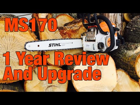 Stihl MS170 upgrade and review