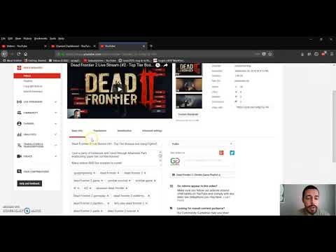 Add Or Remove Live Stream Chat (YouTube Stream Replay)