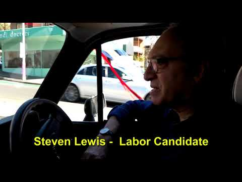 CHAT IN CAR WITH CANDIDATE 3 STEVEN LEWIS TAXI MASTER SPB