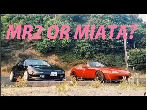 MR2 VS MIATA Cheap Sports Car Owner Comparison Review