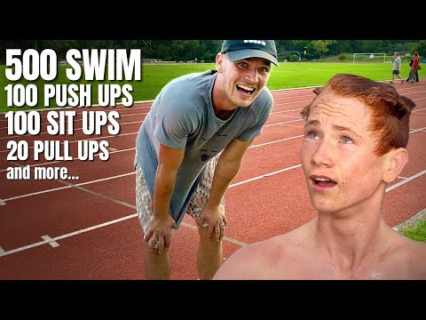 Can 16 Year Olds PASS The US Navy Seal Fitness Test?